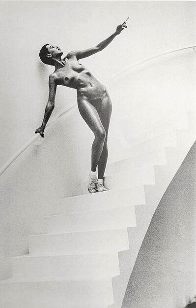 Helmut Newton, 'In my studio, Paris ', 1978