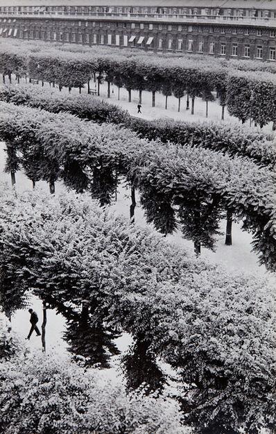 Henri Cartier-Bresson, 'Gardens of the Palais Royal, Paris, France', 1961