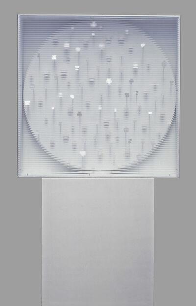 Heinz Mack, 'Weißer Rotor mit weißen Punkten', 1960