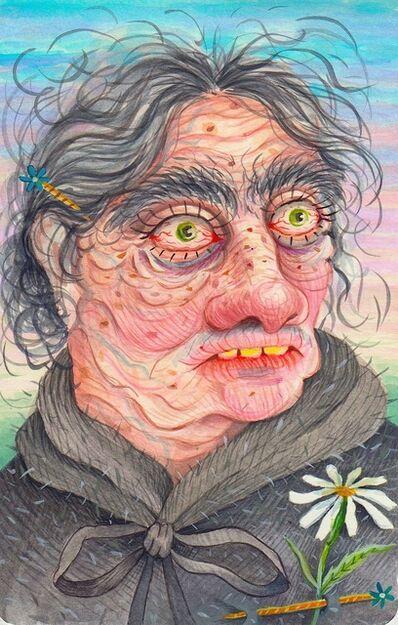 Rebecca Morgan, 'Daisy Pin'd Old Maid', 2016