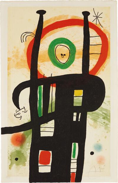 Joan Miró, 'Le grand ordonnateur (The Great Computer)', 1969