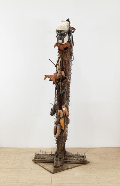 Joe Minter, 'The Trail of Lynching', 1997