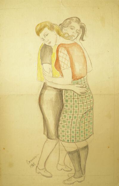 Marie Vorobieff Marevna, 'Two women embracing', 1943