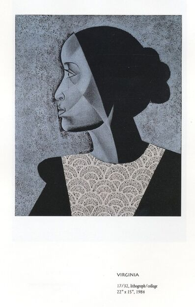 Elizabeth Catlett, 'Virginia', 1984