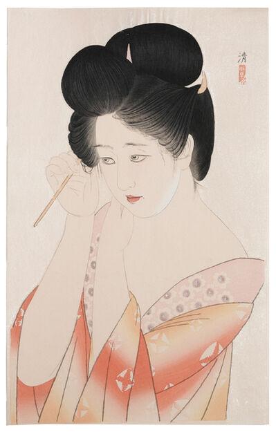 Kobayawaka Kiyoshi, 'Dressing Her Hair', ca. 1931