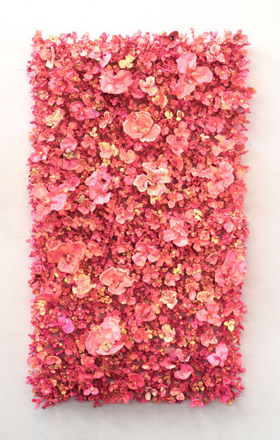 Stefan Gross, 'Flower Bonanza XL - pink ', 2020