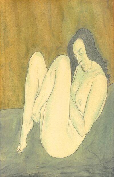 Austin Osman Spare, 'Seated female nude', 20th Century