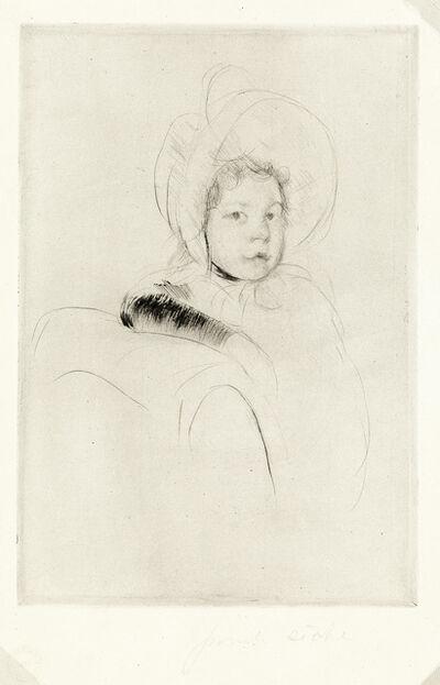Mary Cassatt, 'The Velvet Sleeve', circa 1904