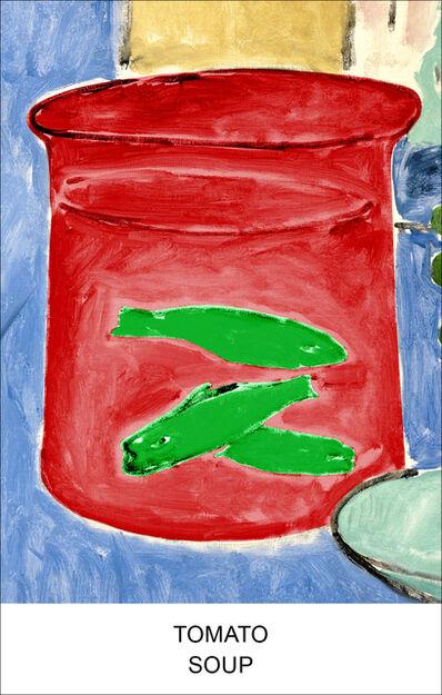 John Baldessari, 'Eight Soups: Tomato Soup', 2012