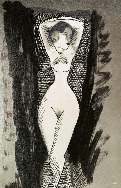 Man Ray, 'Alice Prin (Kiki de Montparnasse)', 1924
