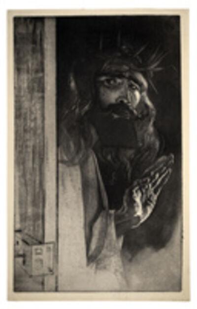 Louis Legrand, 'Self-portrait as Christ', 1895