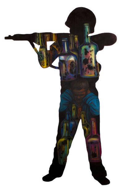 Grace Graupe-Pillard, 'Boy With A Gun - Chemical Deterioration', 1992