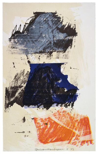 Robert Rauschenberg, 'Lion Rhyme', 1993