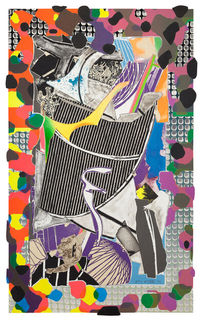 Frank Stella, 'The Battering Ram', 1993