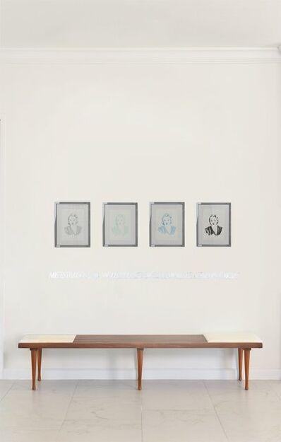 Paloma Castello, 'Tallulah Bankhead Quadriptych', 2016
