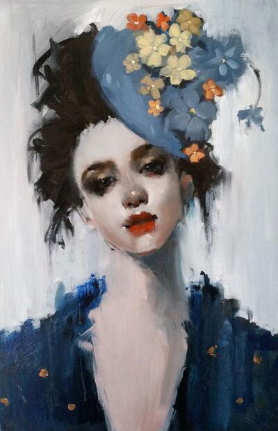 June Valentine Ruppe, 'Blue Flowers', 2108