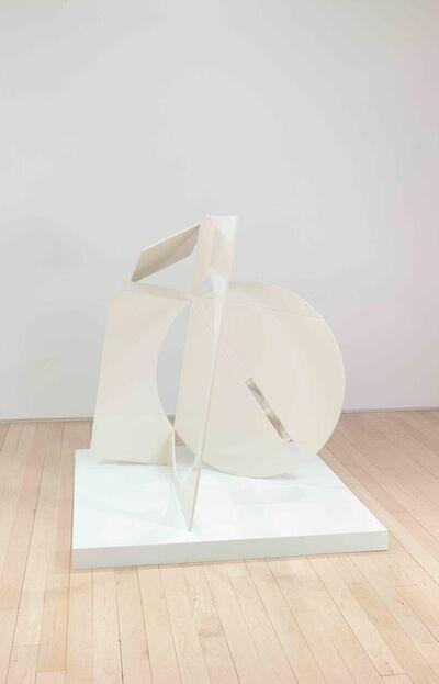 Fletcher Benton, 'Folded Square Alphabet Y', 2018