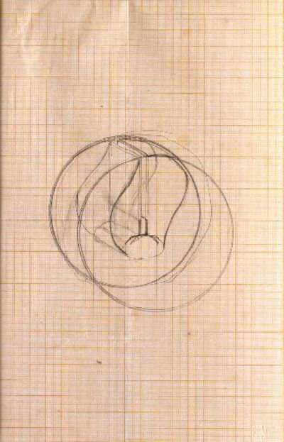 Naum Gabo, 'Study for a Construction (D84)', early 1920s