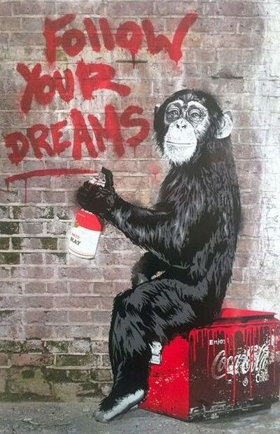 Mr. Brainwash, 'MR BRAINWASH, FOLLOW YOUR DREAMS', 2012