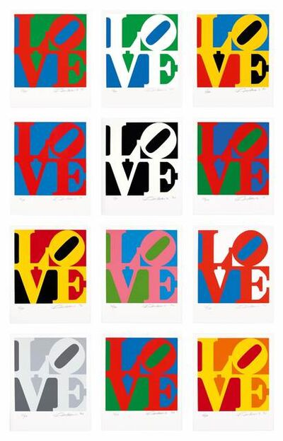 Robert Indiana, 'The Book of Love', 1996