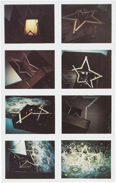 Sigmar Polke, '8 Zollstocksterne ', 1970