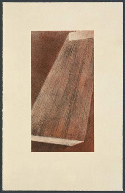 Ed Ruscha, 'Bolt 111', 1998