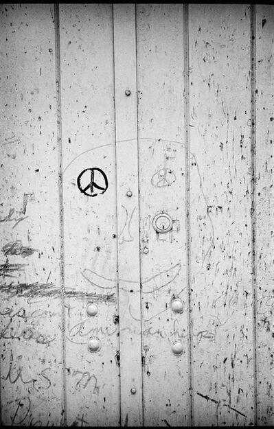 Jim Marshall, 'Peace Graffiti Face ,New York', 1963
