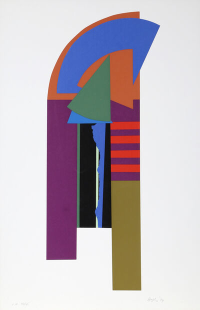 Budd Hopkins, 'Guardian X', 1979