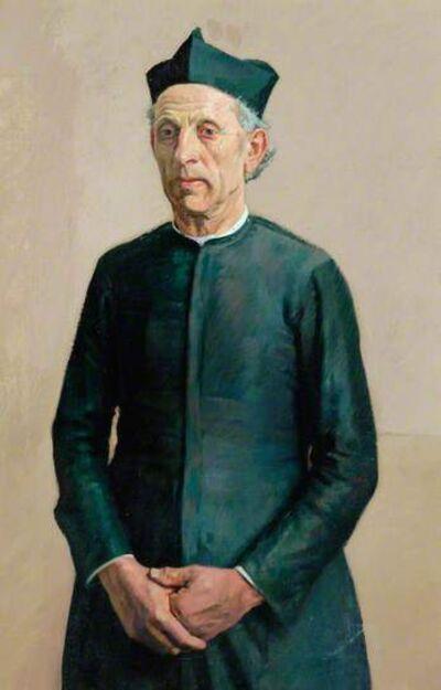 William Rothenstein, 'The Village Priest', ca. 1925