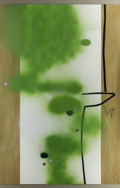Victor Pasmore, 'Green Development in Two Movements', 1989