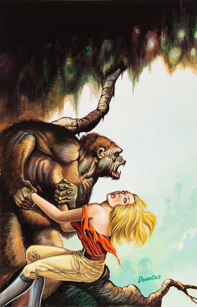 'Untitled (Gorilla grabbing scared woman)', c. 1960-75