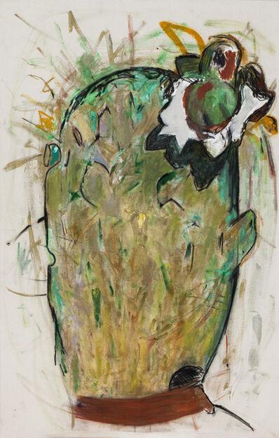 GASPAR MARTINEZ, 'Cactus with Flower', 2015