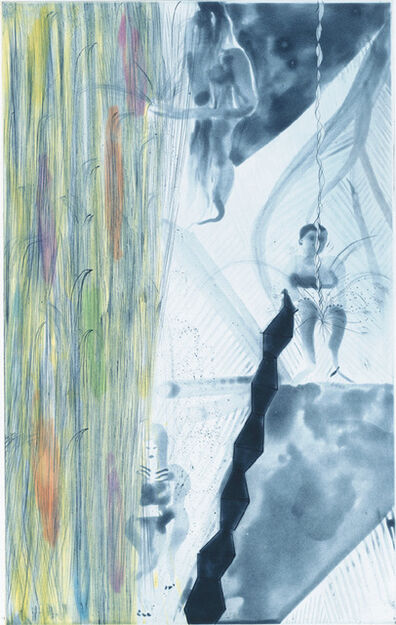 Chris Ofili, 'Rincon Falls Grey Bather', 2008