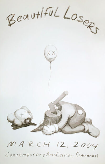KAWS, 'Beautiful Losers Exhibition Poster', 2004