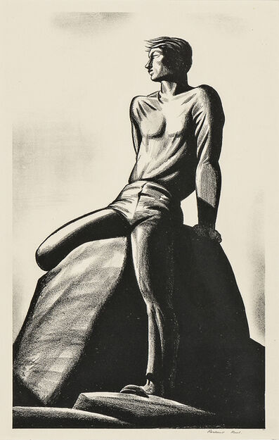 Rockwell Kent, 'Pinnacle', 1928