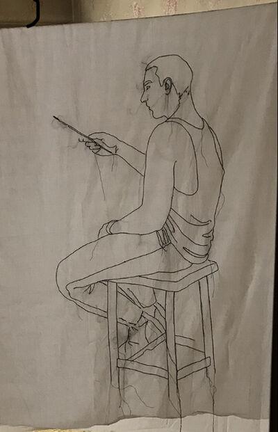 Alberto Torres Hernández, 'The Painter, Nell'Atelier Dell'Artista', 2018