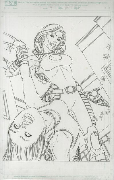 Michael Choi, 'X-23: TARGET X (2006) #4 pg 23 Kimura & X23 Splash', 2006