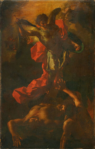 Francesco Solimena, 'Saint Michael expelling the Rebel Angels', ca. 1700