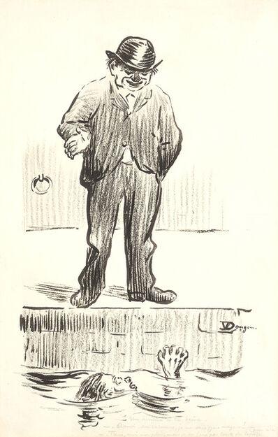 Kees van Dongen, 'Un Homme À La Seine'