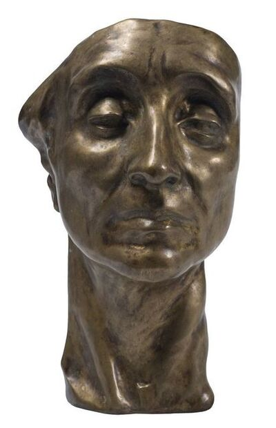 Amedeo Bocchi, 'Head of Man', 1920