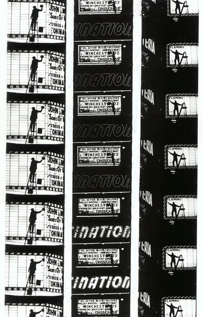 "William Klein, 'Filmstrips from ""Broadway by Light "" # 2, New York', 1958"