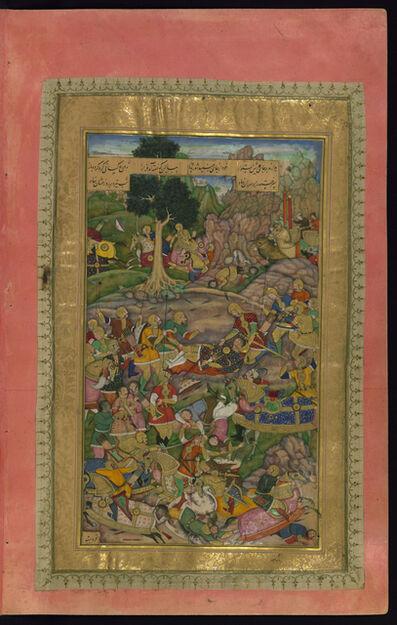'Abd al-Rahim 'Ambarin Qalam, 'The Death of Darius', 1595