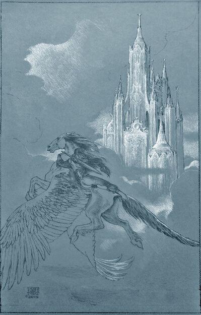 Stephen Hickman, 'Empyrean Wings Study'