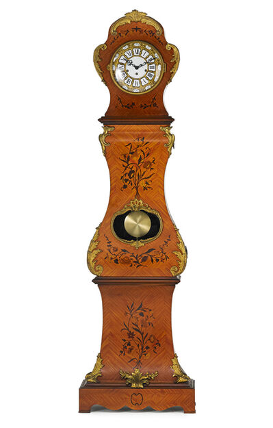 Style of Louis XIV, 'Louis XIV Style Kingwood Tall Case Clock', late 20th c.