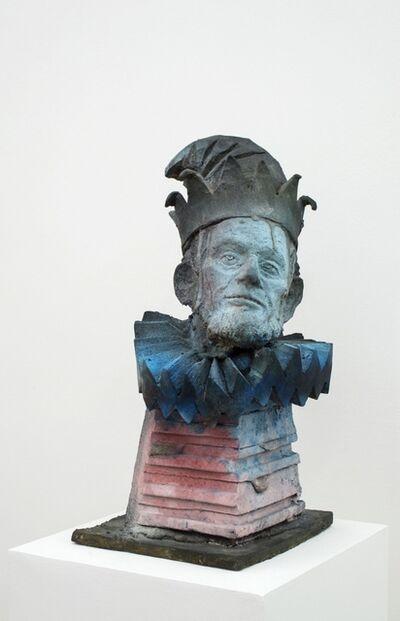 Folkert de Jong, 'Head of a Saltimbanque', 2013