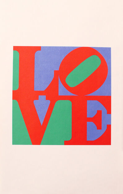 Robert Indiana, 'The Philadelphia LOVE', 1975