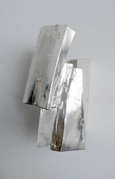 Tabor and Villalobos, 'Offset Fused Plated Cuff', 2012
