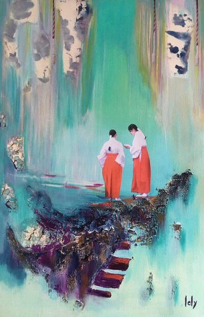 Geraldine Laly, 'Waterfall's Murmur 2'