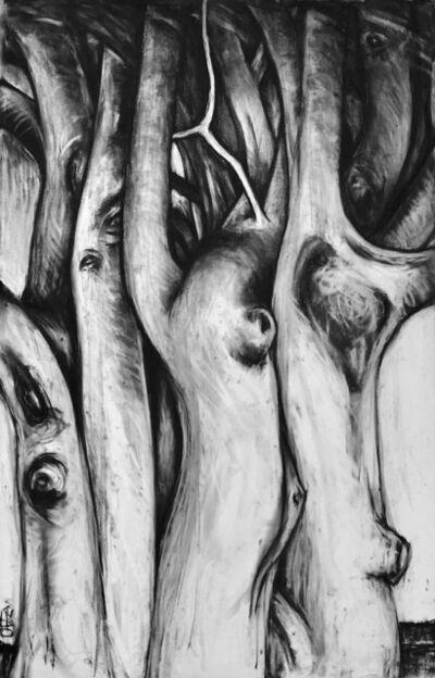 Ellen LeBow, '3 Trees, Vieques', 2019