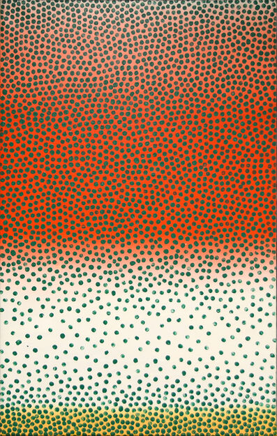 Wojciech Fangor, 'Green Points', 1961